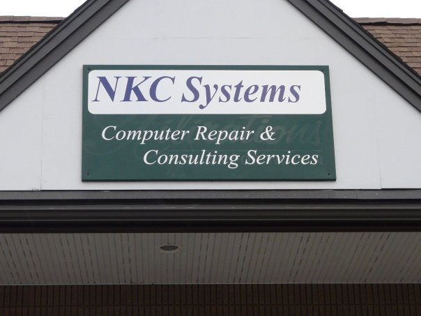 NKC Systems Inc. Office Sign
